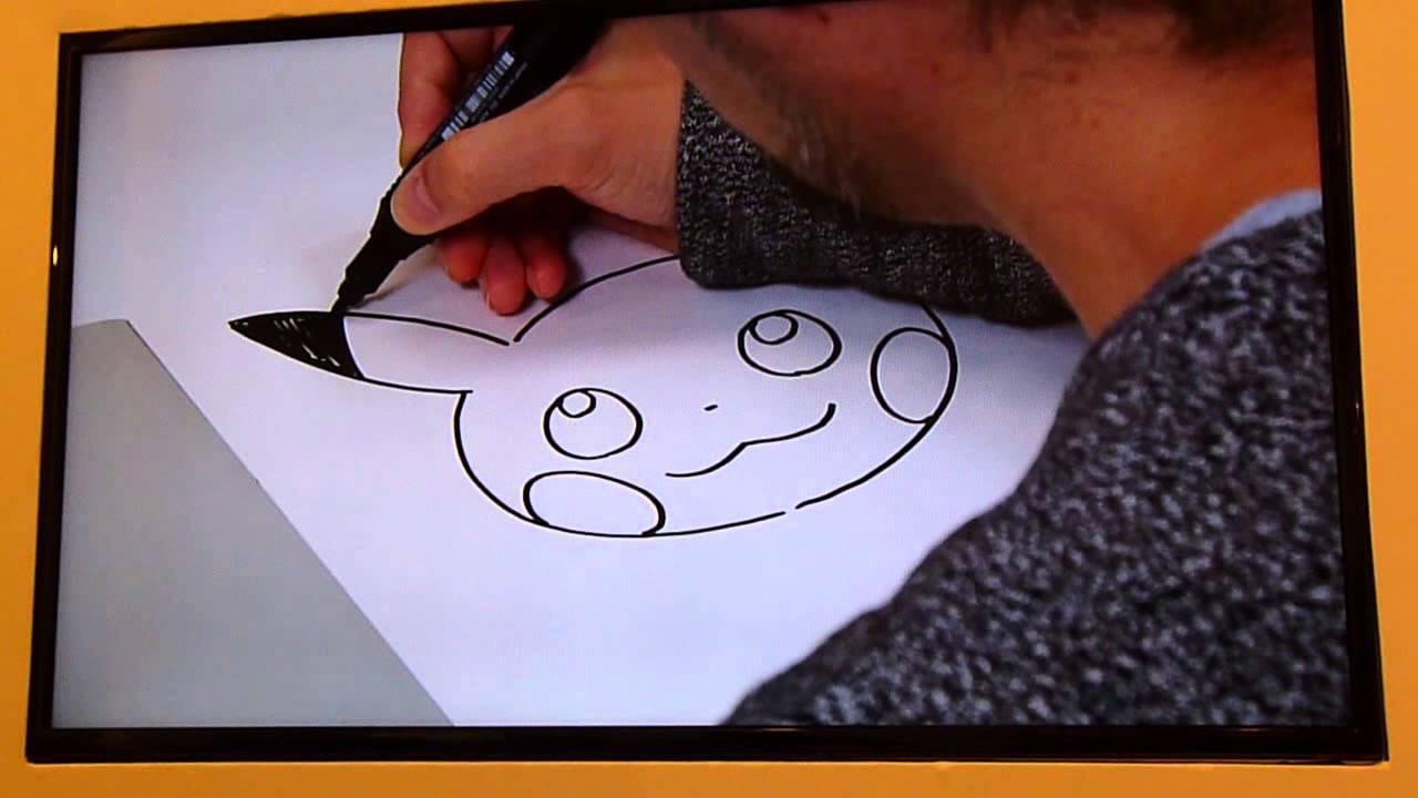 Pok mon apprendre dessiner pikachu avec ken sugimori - Apprendre a dessiner pokemon ...