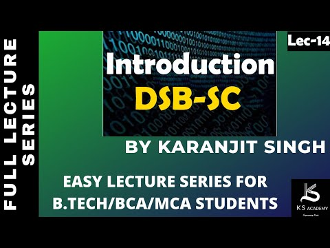 INTRODUCTION TO DSB-SC ||COMMUNICATION SYSTEM ||BTECH||4TH SEM||LEC. 1||PART 13.