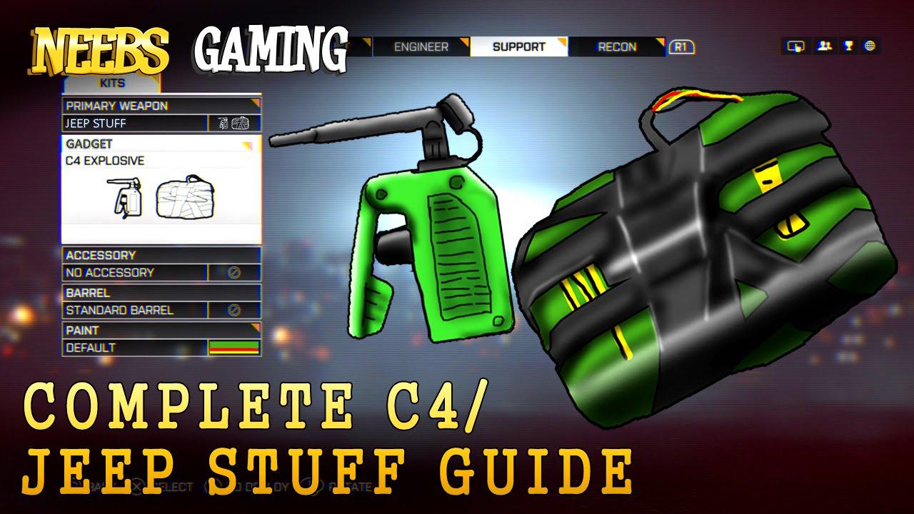 C4 Guide Battlefield 4 Youtube