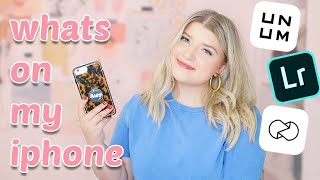 What's On My iPhone & My Favourite Editing Apps