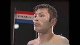 WBA世界フェザー級TM  フレディノーウッドVS松本好二