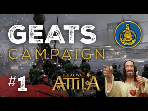 Lets Play Total War Atilla: Viking Forefathers - Geats - Legendary Part 1