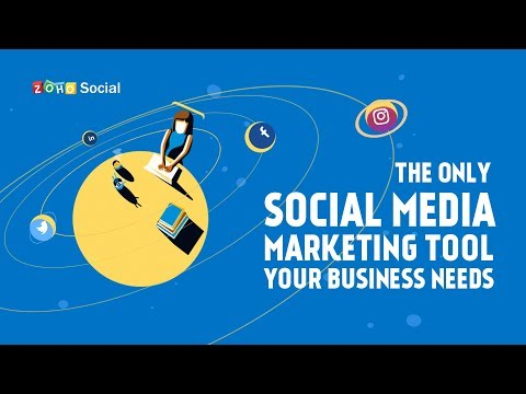 Social Media Management for Growing Businesses - Zoho Social | Video