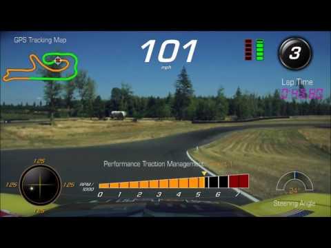 2016 Corvette Z06 at The Ridge Motorsports Park