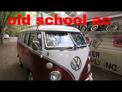 vw bus flip up windshield install and test drive