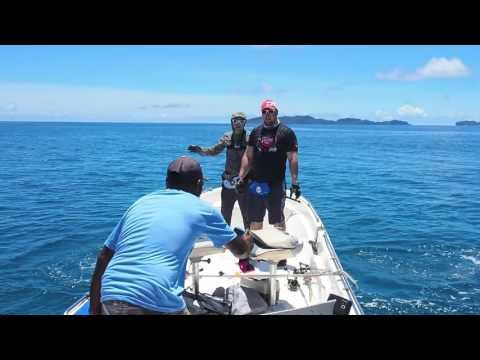 Long Reef Fishing Papua New Guinea 2016