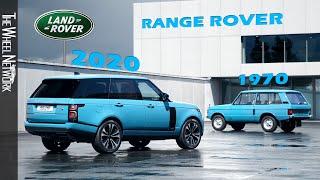 2020 Range Rover Fifty and 1970 Range Rover – 50th Anniversary of British Luxury SUV