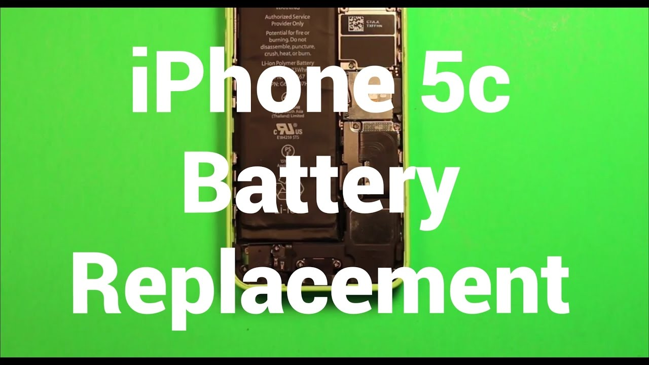 iphone 5c battery iphone 5c battery replacement how to change 11079