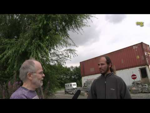 TVG Interviews Argentinian in The Annual Intl. Homeless Clean-up Camp Post-Roskilde Festival 2012