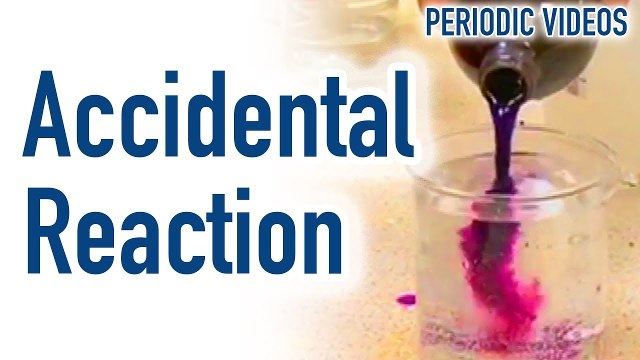 Accidental reaction periodic table of videos youtube accidental reaction periodic table of videos urtaz Images