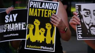 USA  Protesters decry police decision not to name training fund after Philando Castile