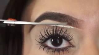 Longer grow Cut eyelashes