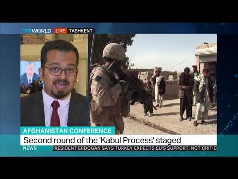 Tashkent hosts peace summit to encourage Taliban-Kabul talks
