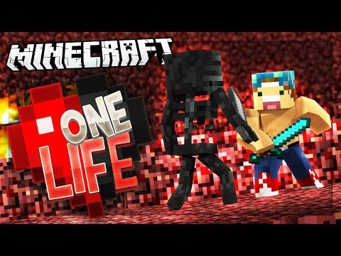 Download Youtube: WITHER SKULL HUNTING! | One Life SMP #55
