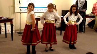 Shatti Ya Dinye Ta Yzeed Mawsimna w-Yihla - Arab Dabke Dance  - ALIF Institute (December 5, 2009)
