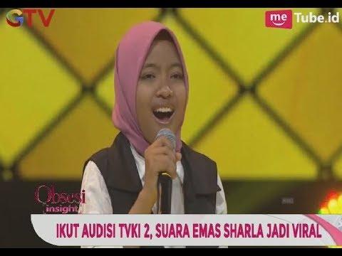 Wow!! Suara Emas Sharla Menjadi Viral Dalam Ajang TVKI 2 - Obsesi 04/11