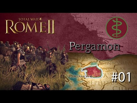 Total War Rome II: Pergamon - Grand Campaign #01