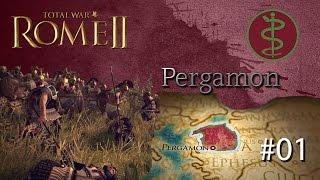 Total War Rome II: Pergamon - Grand Campaign #01