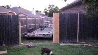 Back Yard -  Slide Gate