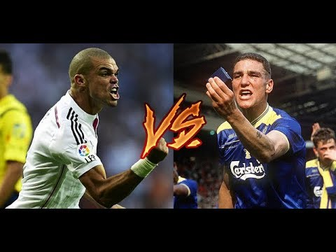 Pepe vs Vinnie Jones  ● Wild Moments