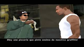 GTA SAN ANDREAS MISIÓN 2 Y 3 : RYDER Y TAGGING UP TURF