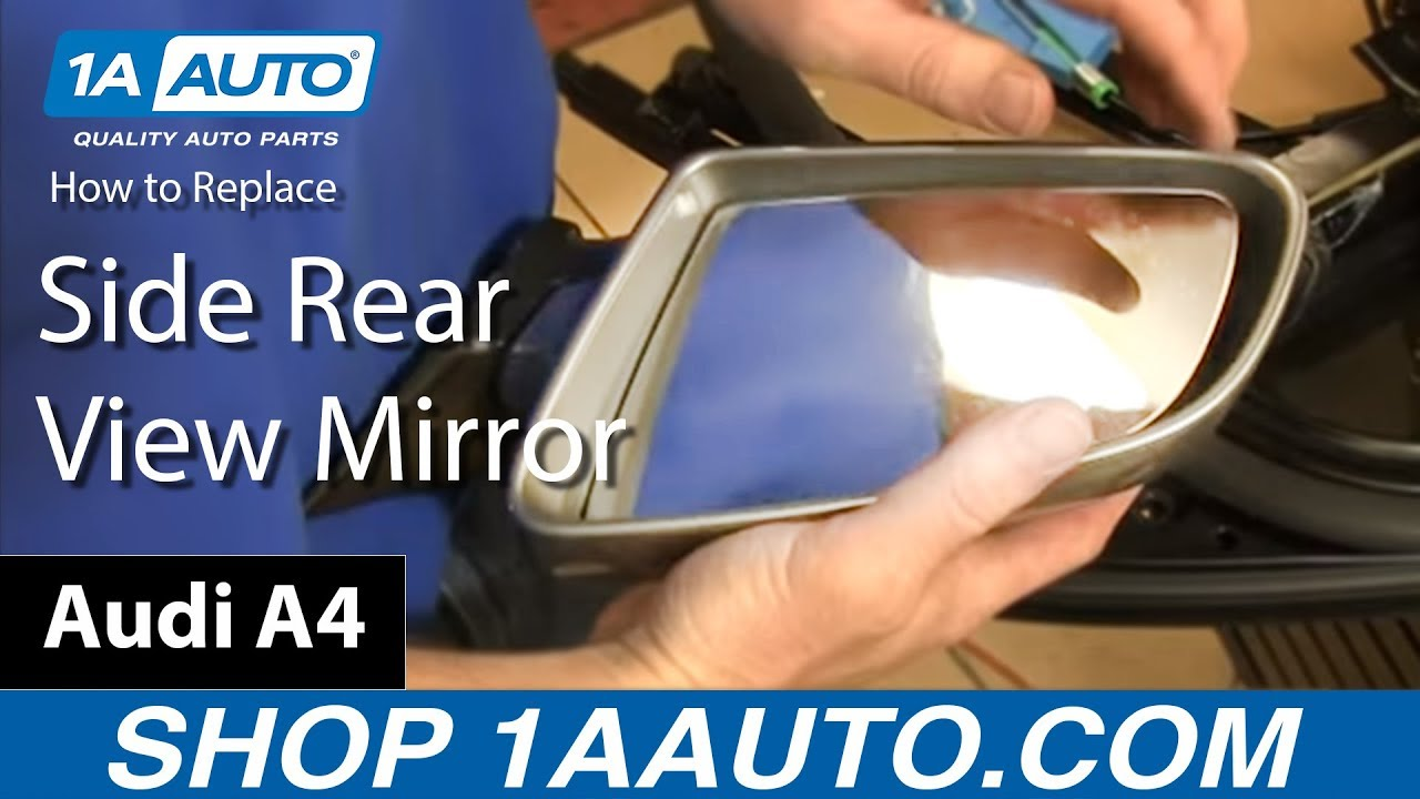 Audi A4 B8 A5 8T NS Left Door Mirror Glass Heated New