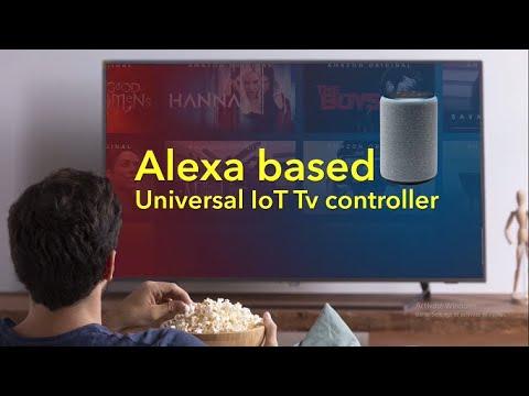 Alexa controlling TV and Set Top Box