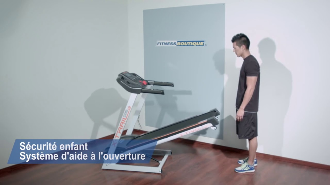 Tapis De Course Fitness Doctor X Trail 2 Youtube