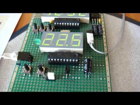 Самодельный цифровой термометр