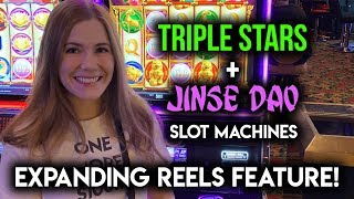 First Try on NEW! Jinse Dao! Slot Machine!!