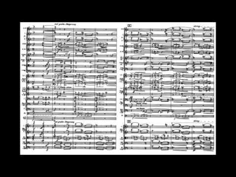 Anton Webern  Passacaglia for orchestra, Op 1 1908