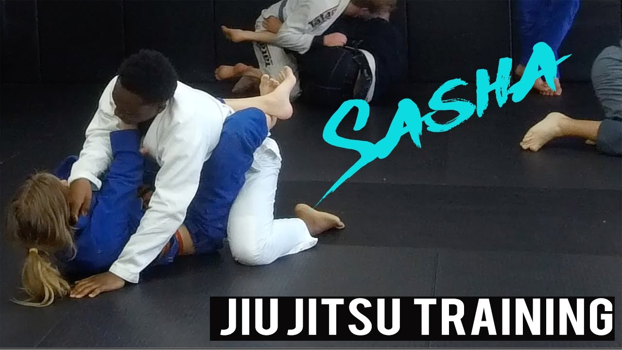 Jiu Jitsu Training with Bigger People