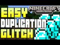 Minecraft Pocket Edition - 0.9.4 UPDATE! - EASY DUPLICATION GLITCH - TUTORIAL