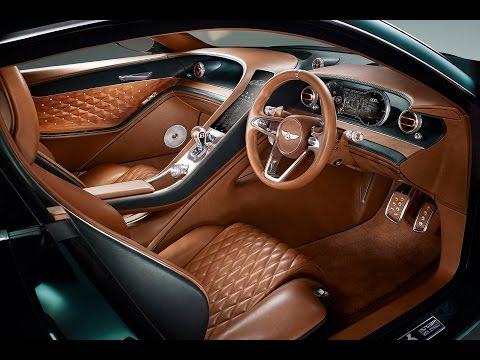 Bentley Exp 10 Speed 6 Concept Geneva Motor Show 2015 Youtube