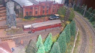 Spur N Modellbahn ,Heute Gleise im BW fixiert, Tank Station fertig gestellt