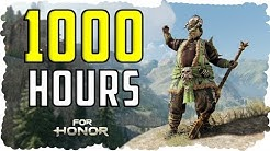 What 1000 HOURS of SHUGOKI Experience Looks Like - For Honor