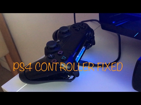 PS4 controller flashing blue/orange light connecting / syncing FIXED
