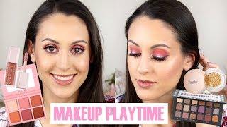 Makeup Playtime! Huda Desert Dusk Dupe, Sigma Palettes & Fenty Beauty