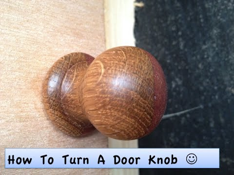 How To Make A Door Knob - YouTube