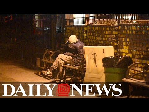 NYC's Homeless Choose to Sleep in the Streets as Temps Plunge