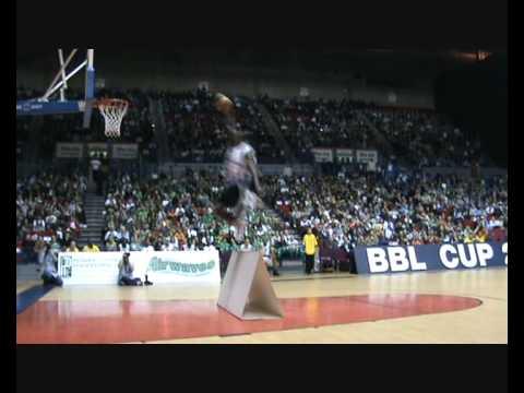 ASSIST Basketball Dunk Contest Champ Tafari Toney