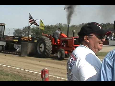 AC 210 pulling at Morris, Illinois-June 12, 2011