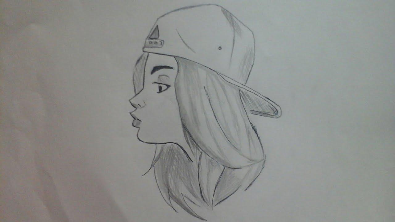 كيف ترسم بنت Drawing Gril Youtube