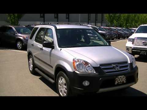 2006 Honda CRV EX Video 001