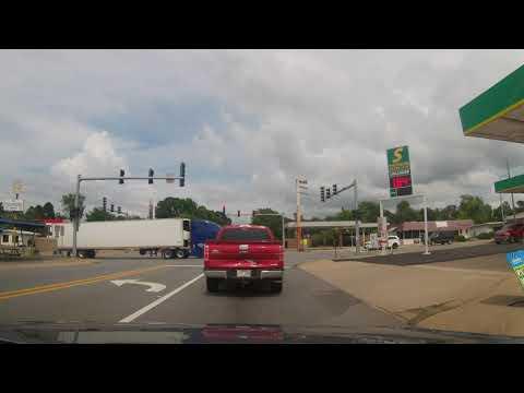 Driving Through Sheridan, Arkansas