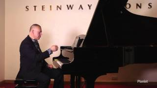 Piano Lesson from Steinway by Graham Fitch: Singing Tone, Part 2