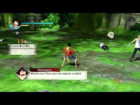 One Piece Pirate Warriors - Playthrough Part 1 - I'm Gonna Be The Pirate King!
