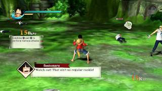 One Piece Pirate Warriors - Playthrough Part 1 - I
