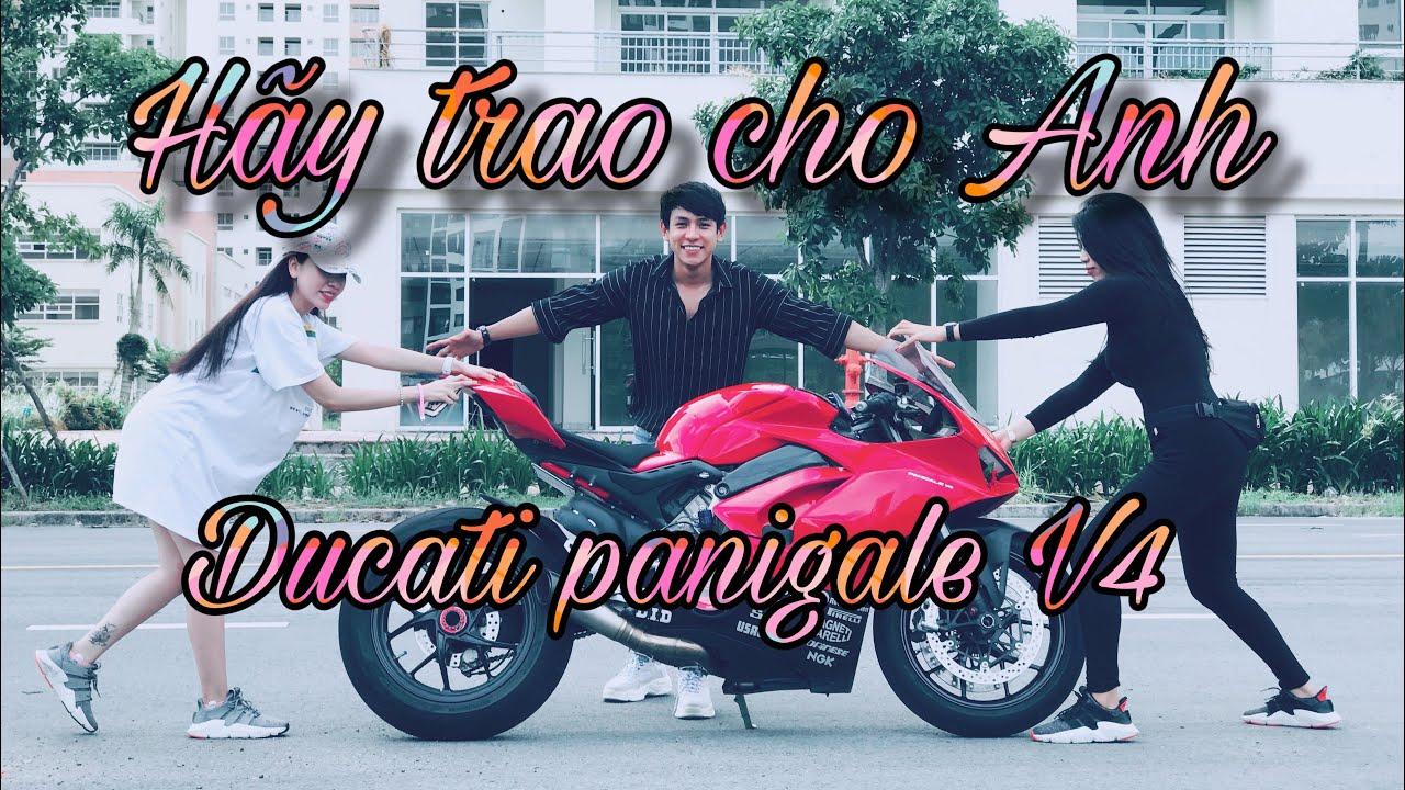 Clip Hài Moto PKL - Hãy Trao Cho Anh - Ducati Panigale V4 - Thy Thỏ TrangMoon   MinhBiker