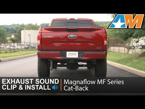 2015-2016 F-150 2.7L Magnaflow Exhaust Sound Clip MF Series Cat-Back - Dual Side Exit Review